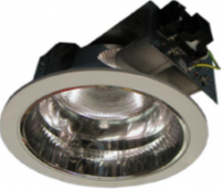 Horizontal Recessed Round Downlight for Low Ceiling c/w Frosted Glass LC8-A/ LC9-A