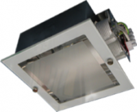 4G Recessed Square Downlight c/w Frosted Glass