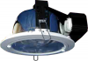 Horizontal Recessed Round Downlight for Low Ceiling c/w Frosted Glass H6