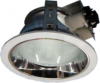 Horizontal Recessed Round Downlight for Low Ceiling c/w Frosted Glass LCD4-A